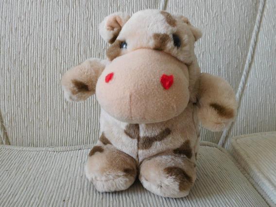 Hipopotamo Pelucia Bege/marron 22 Cm