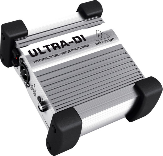 Direct Box Ativo Ultra-di Behringer 1 Canal Xlr Balanceado