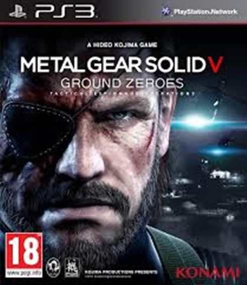 Metal Gear Solid V Ground Zeroes Ps3 (midia Digital)