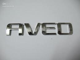 Emblema Aveo Chevrolet Nuevo!!!