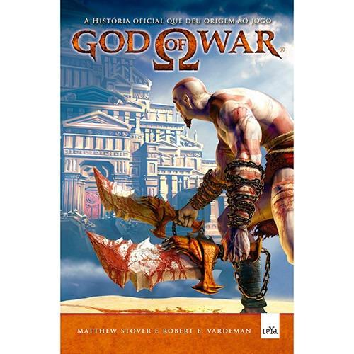 Livro - God Of War - A História Que Deu Origem Ao Jogo #