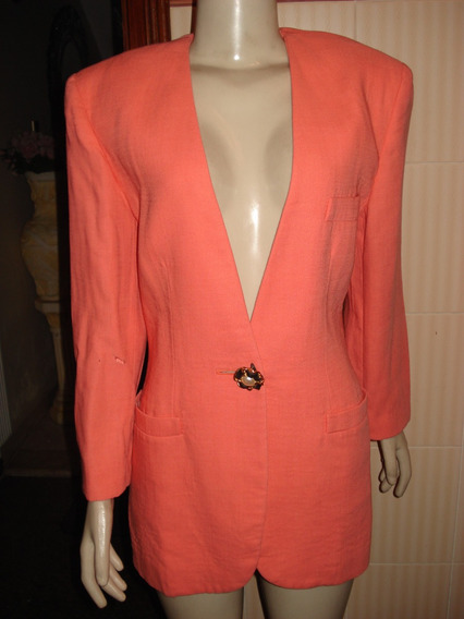 Blazer 100 % Lã Da Prunelle Made In Italy Tam 40 C/ Defeito