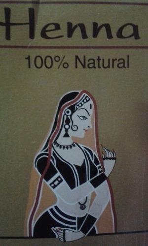 Ruiva Henna Casa Da Índia Natural 100g Melhor $ Hena+ Brinde