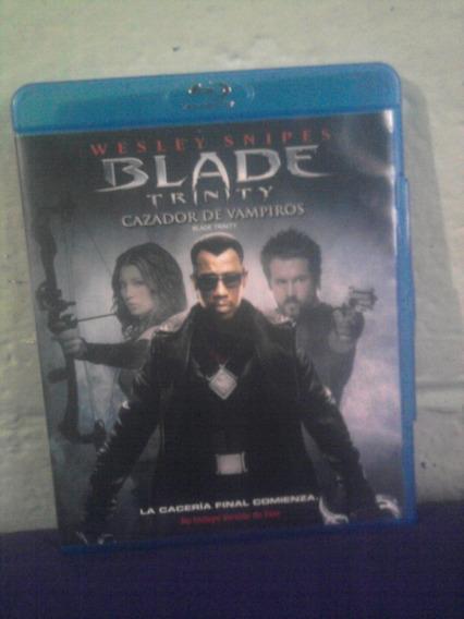 Blu Ray Blade Trinity Cazador De Vampiros Terror Acción