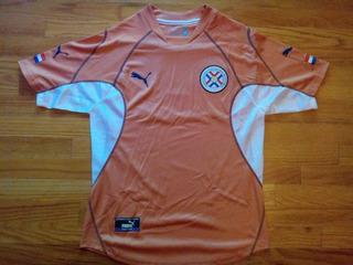 Camisa Paraguai Puma Copa 2002 Autentica Excelente Estado