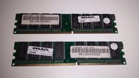 4 Un Memoria Ddr 256mb Novadata Pc3200 Cl 2.5 Desktop Pc