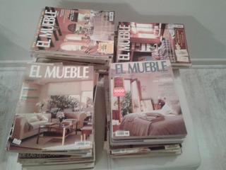 Colección De Revistas El Mueble Española Diseño Y Decoración