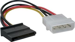 Cable De Power Sata Adaptador Molex Asata Megasoft Caballito