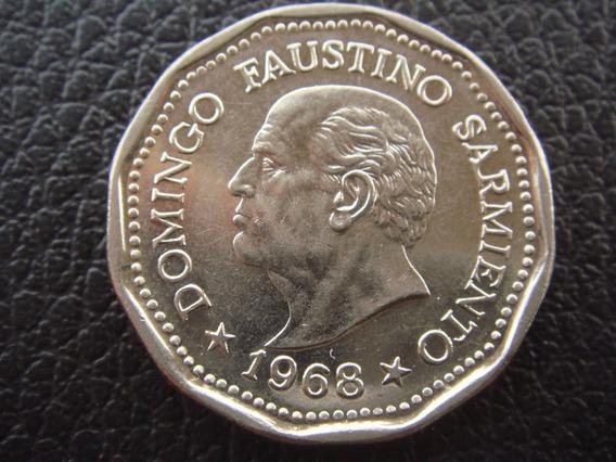 Argentina - Moneda D 25 Pesos, Año 1968 Sarmiento Excelente
