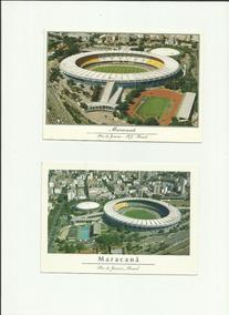 Lote Com 5 Postais Estádio Do Maracanã