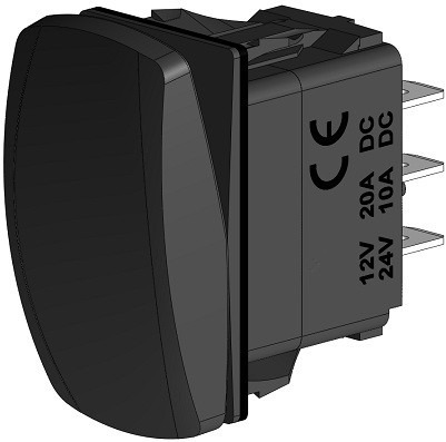 Imagem 1 de 1 de Interruptor On - Off - On - Cod 2764