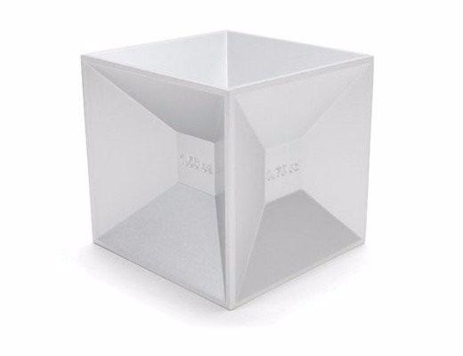 Medidor De Bebidas, Cubo De Aluminio