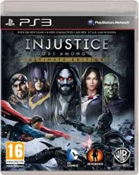 Injustice Gods Among Us Ultimate Edition Ps3 (codigo Psn)