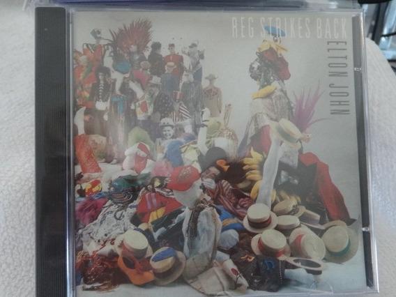 Cd - Elton John - Reg Strikes Back - Raro