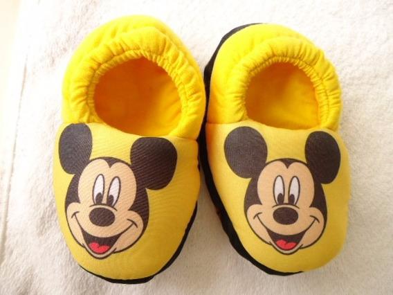 Pantufa Minnie Mickey Mouse * Sob Encomenda