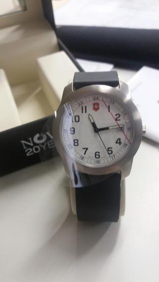 Relógio Victorinox Ed.comemorativa 25 Anos Novus Novo Na Cx