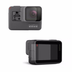 2 Kit Peliculas Vidro Temper Camera Gopro Hero 5 Lente+visor