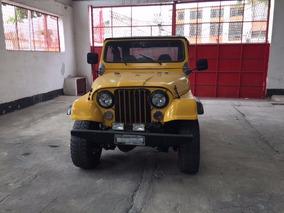 Jeep Willys Cj5 Carroceria De Fiberglass Motor Ohc