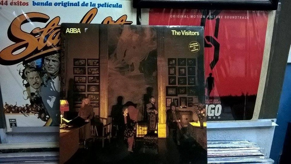 Abba - The Visitors Lp Made In Spain