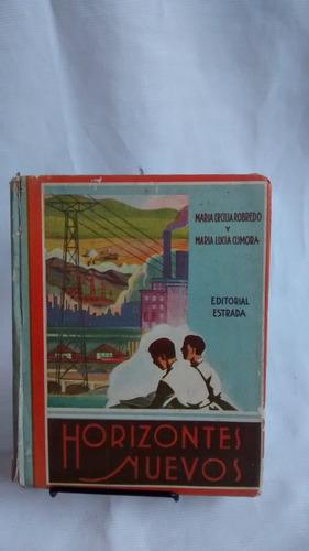 Imagen 1 de 5 de Horizontes Nuevos Robredo Cumora Estrada 1956