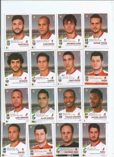 Brasileiro 2015 Jogadores Time S. Paulo (16f.) - Com/e 13.00