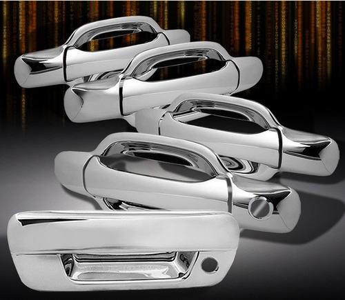 Juego Cubre Manijas Cromadas Chevrolet Colorado 2004 - 2012