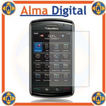 2x Lamina Protector Pantalla Blackberry Storm 9500 Transpare
