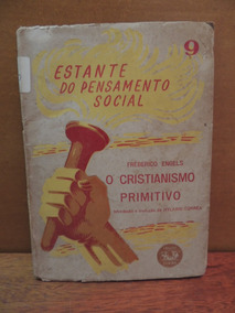 Livro O Cristianismo Primitivo Frederico Engels Estante