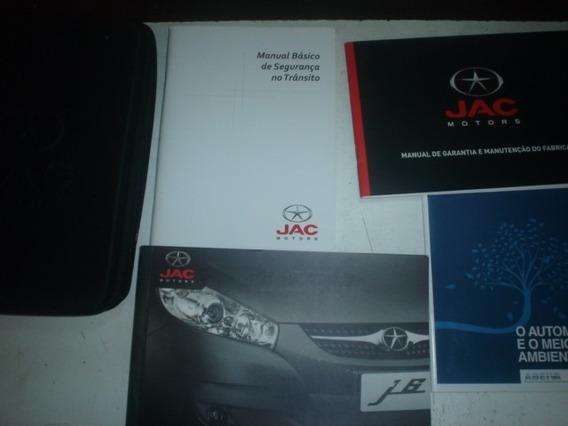 Manual Jac J6 2012 2013 2.0 16v Original Diamond Suv Gasolin