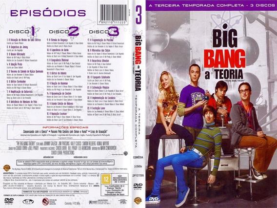 Big Bang A Teoria Terceira Temporada - Original
