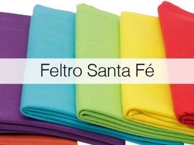 Kit Feltro Santa Fé Com 12 Cortes 29 X 68 Cm Super Promoção