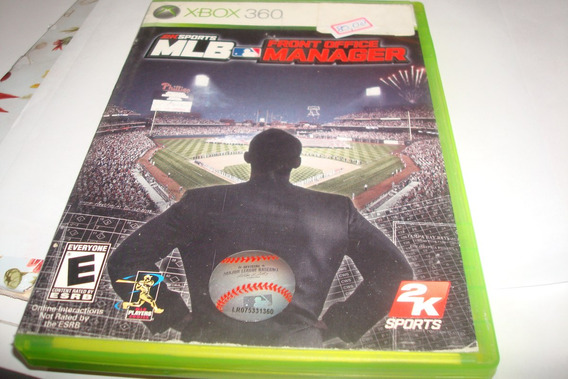 Xbox 360 Front Office Manager Mlb 2 K Sports Baseball