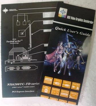 Manual De Instalação Da Placa De Vídeo Msi Nx6200tc-td