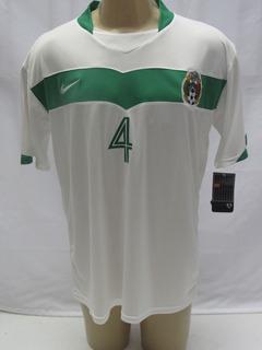 Camisa Futebol Seleção México Nike #4 Rafa Marquez Away Enc