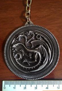 Game Of Thrones Targaryen Chaveiro Frete Grátis