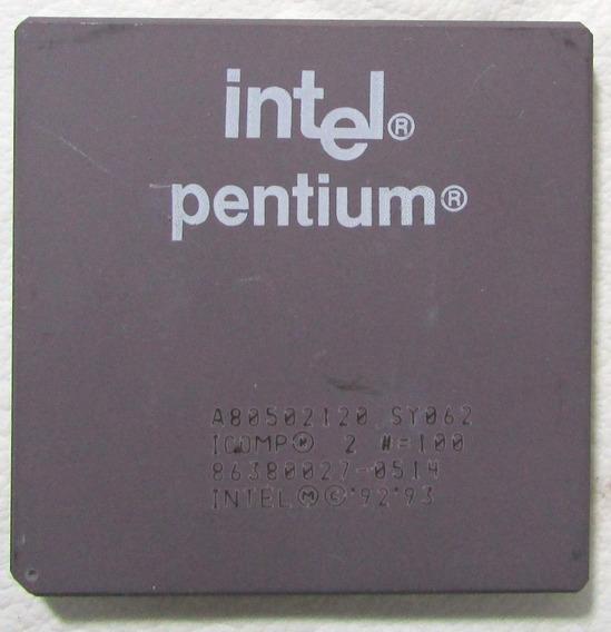 Processador Intel Pentium 120 Fv80502120 Socket 7