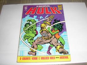 Hulk Nº 34 Editora Abril Estado De Banca Frete Grátis