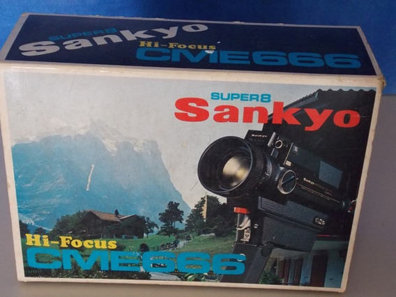 Filmadora Sankyo Super 8mm