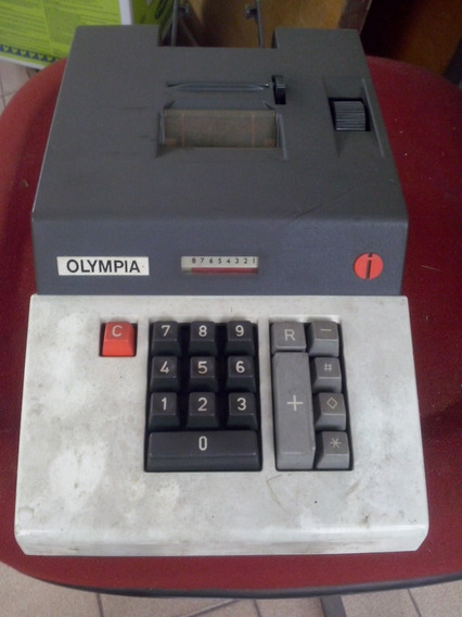 Calculadora Antiga - Olympia
