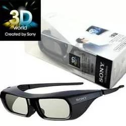 Óculos Sony 3d Recarregável Preto - Tdg-br250