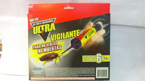 Jeringa  Veneno Insecticida Mata Cucarachas Nuevo 6 Gramos