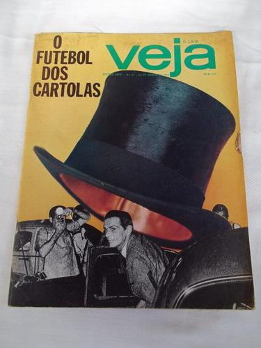 Revista Veja Nº 81 Futebol Seleção Copa De 70 Antiga Rara Fg