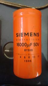 Capacitor Eletrolítico Siemens 16.000uf 50v Promoção