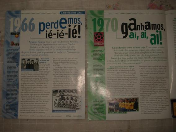 Placar - A História Das Copas 1966 E 1970 - Frete Grátis