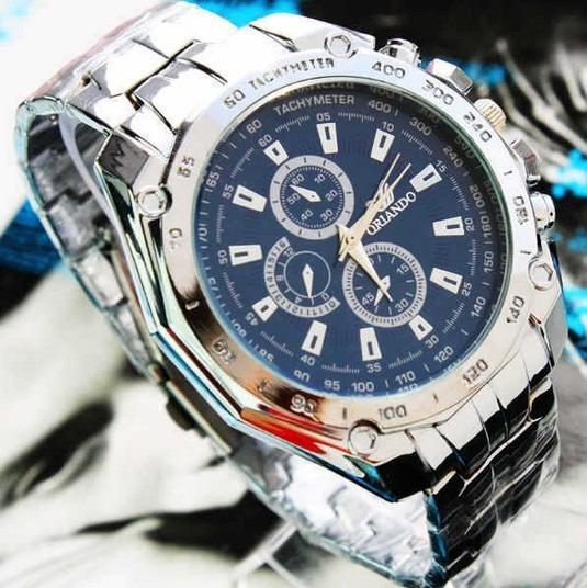 Relógio Esportivo De Luxo Orlando Quartz - Pronta Entrega