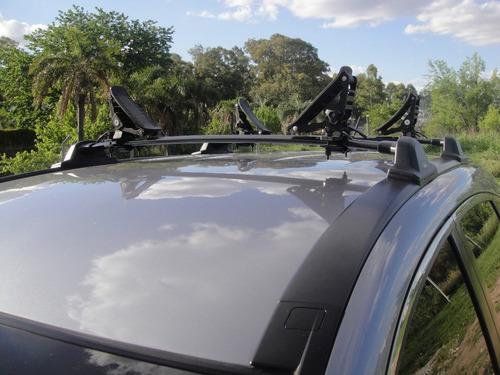 Soporte Kayak, Canoa, Porta Kayak Para Autos Y Camionetas!