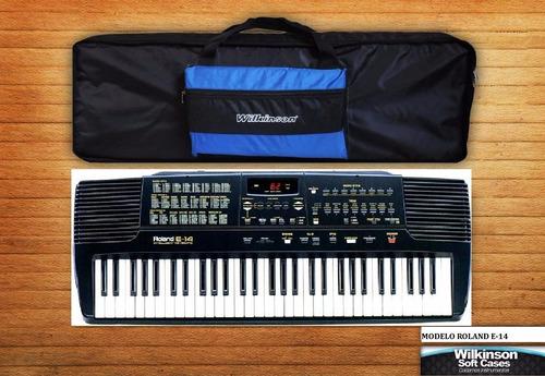 Funda Teclado Roland E14 Super Acolchada