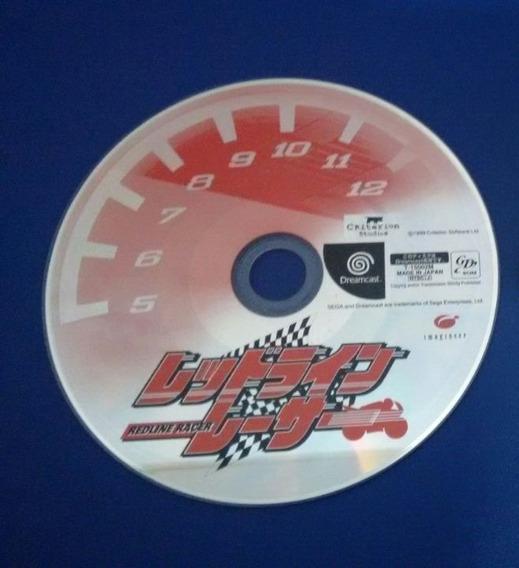 Redline Racer Moto Só Cd Original P/ Sega Dreamcast Japonês