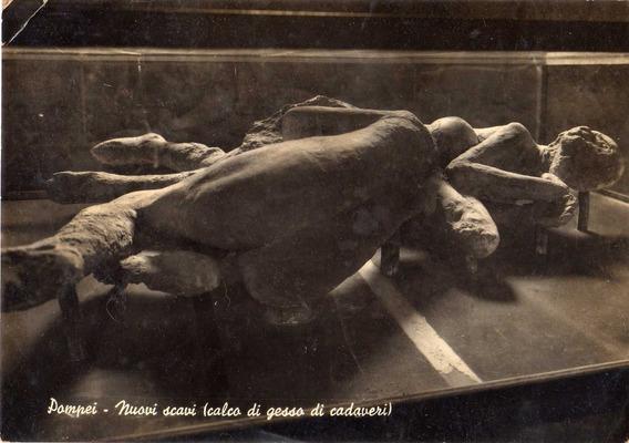 Foto Postal Pompei Circulada 1953