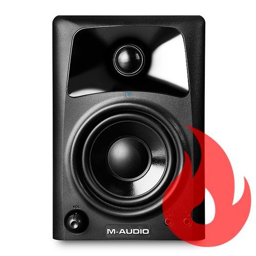 M-audio Av32 Par De Monitores De Áudio . Loja . Nf + Gtia !